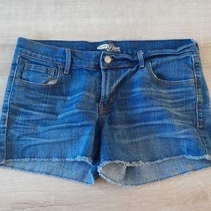 Old Navy Raw Hem Shorts